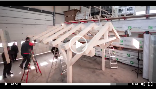 VIDEO – NorgesHus Carport production