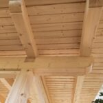 Wooden cladding – roof norgeshus mini 04