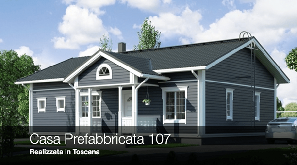 Casa Prefabbricata 107 – Realizzata in Toscana